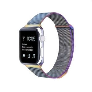 Milanese Band for Apple Watch In Purple/Blue Ombre